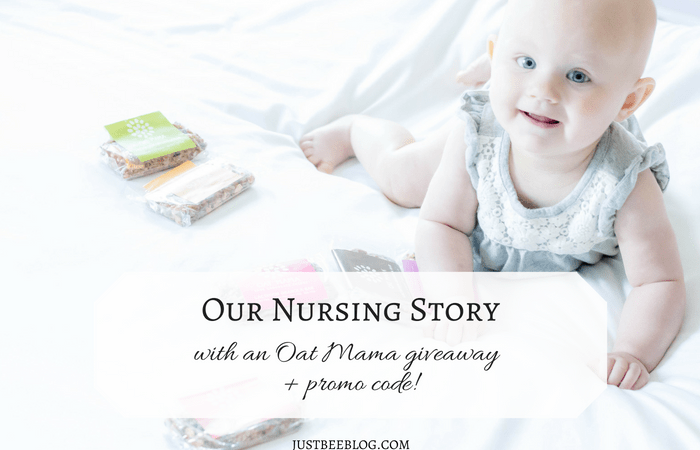 Our Nursing Story (With an Oat Mama Giveaway + Promo Code!)