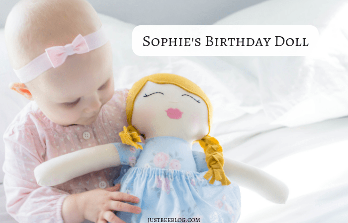 Sophie's Birthday Doll
