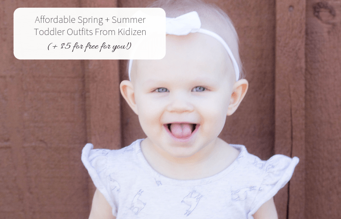 Affordable Spring + Summer Toddler Outfits From Kidizen (+ $5 for free for you!)