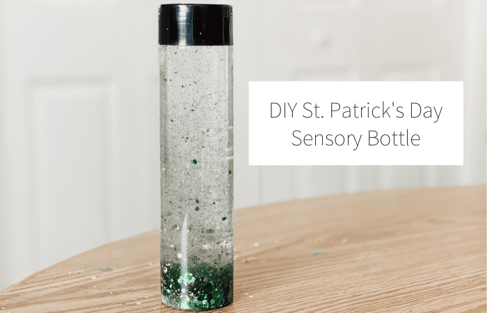 DIY St. Patrick's Day Sensory Bottle