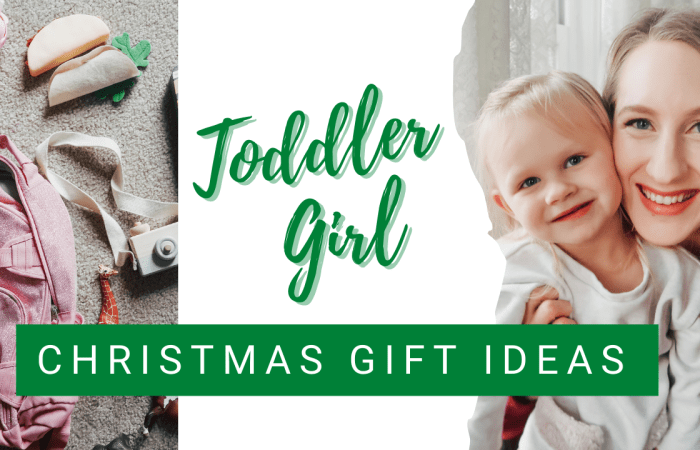 22 Toddler Girl Christmas Gift Ideas