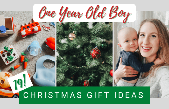 19 Christmas Gift Ideas for a Baby Boy
