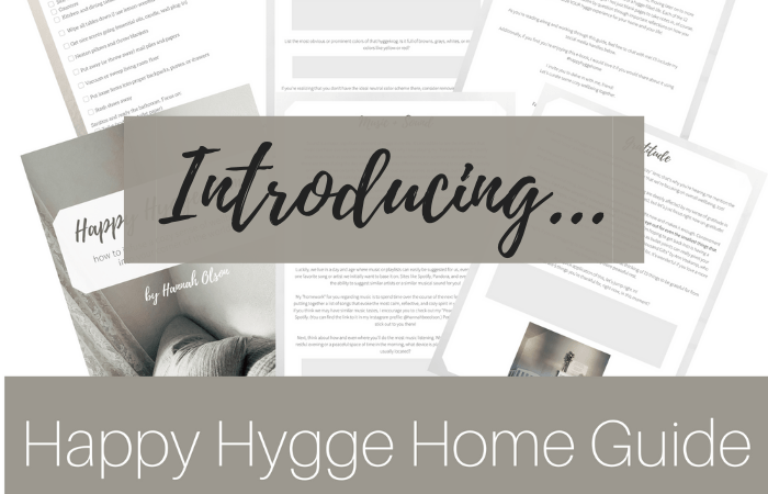 Introducing: Happy Hygge Home!