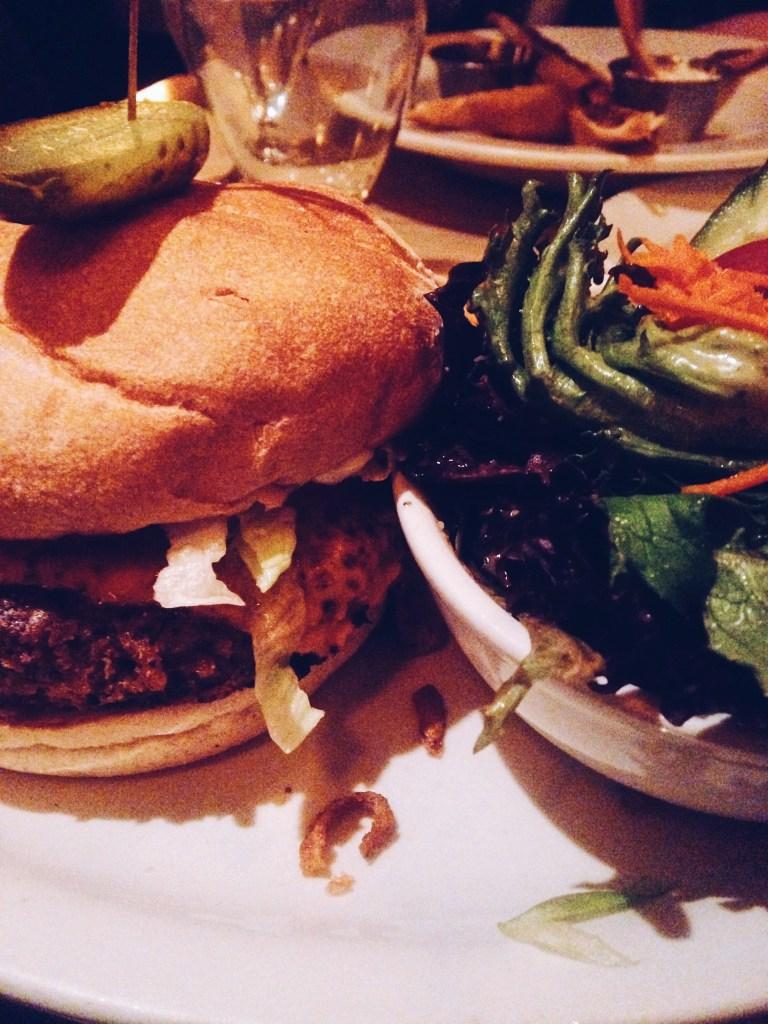 Veggie Burgers At Biercraft
