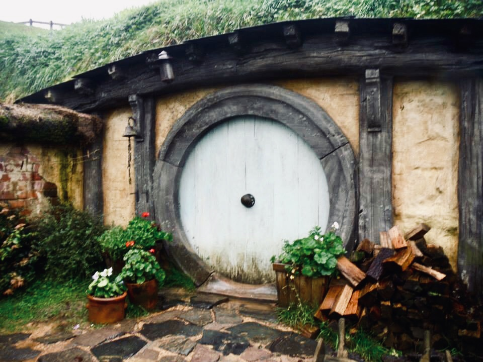 Visiting Hobbiton, New Zealand