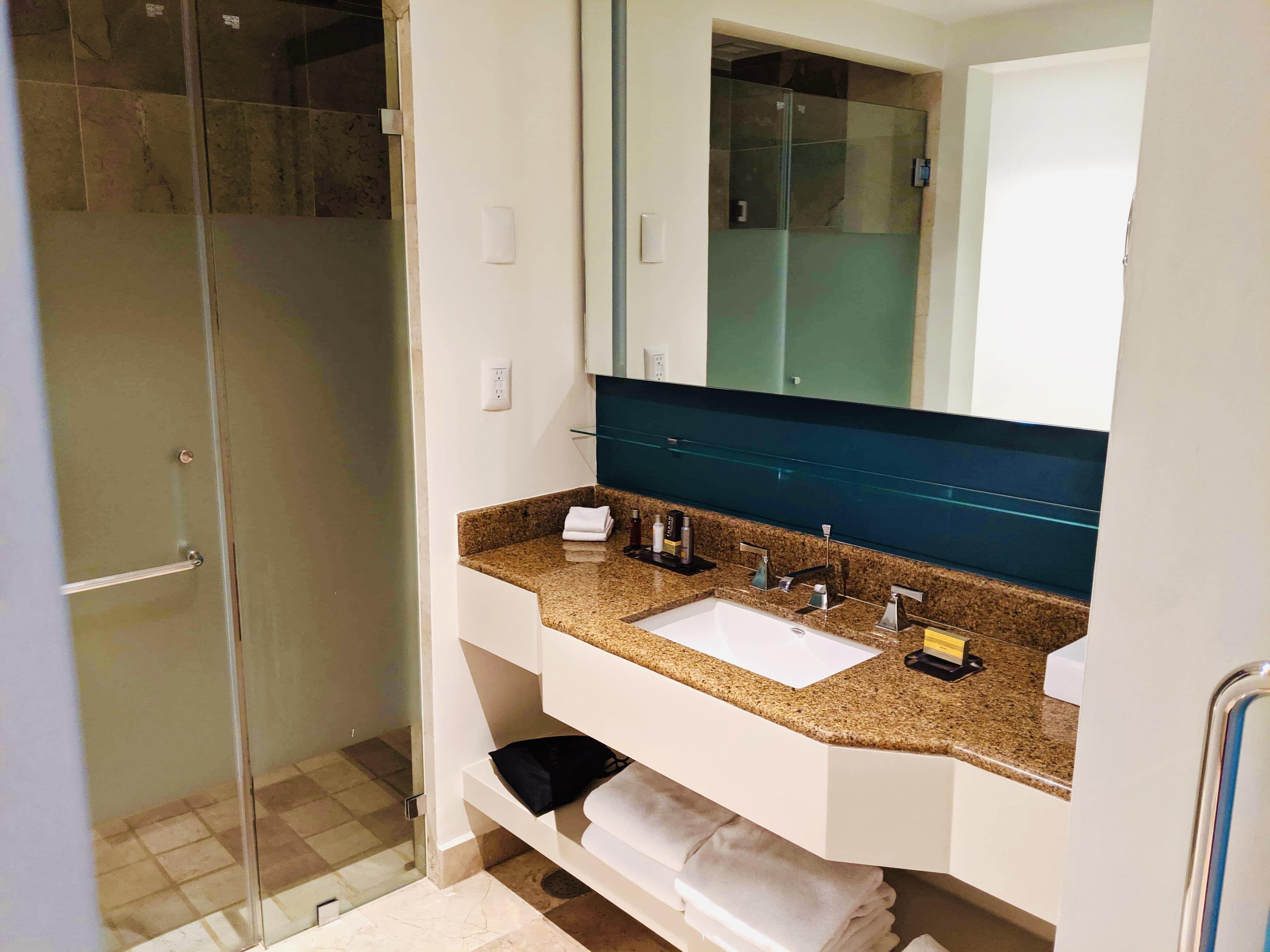 Marriott hotel bathroom sink
