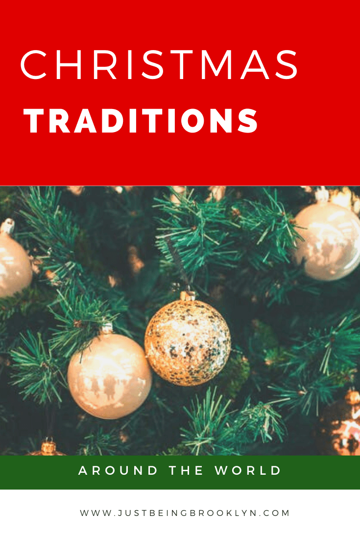 Christmas traditions around the world Pinterest pin