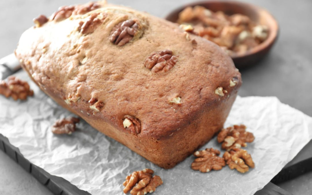 Date Nut Vegan Banana Bread