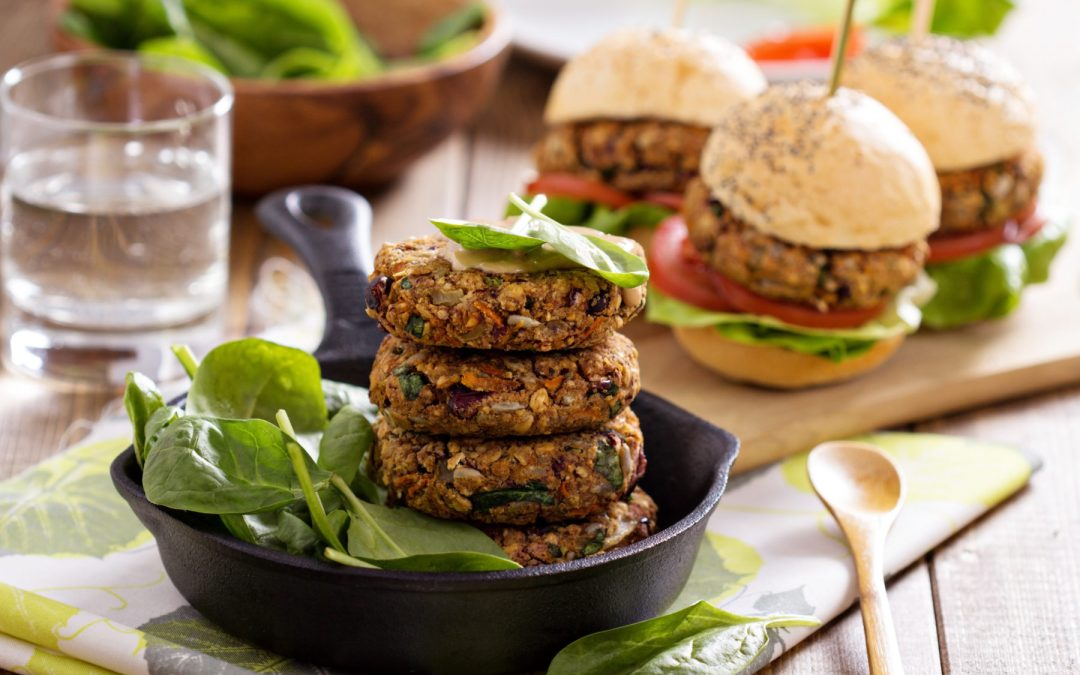 Vegan Burger Recipe- Chickpeas or Black Beans