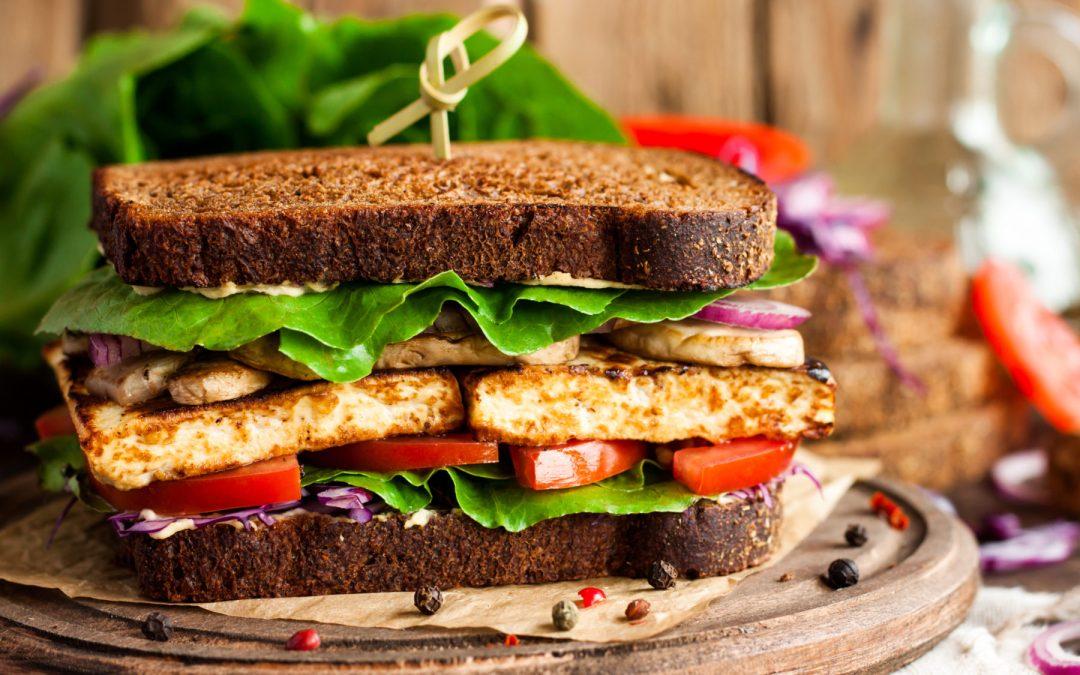 Vegan Sandwich w Tofu