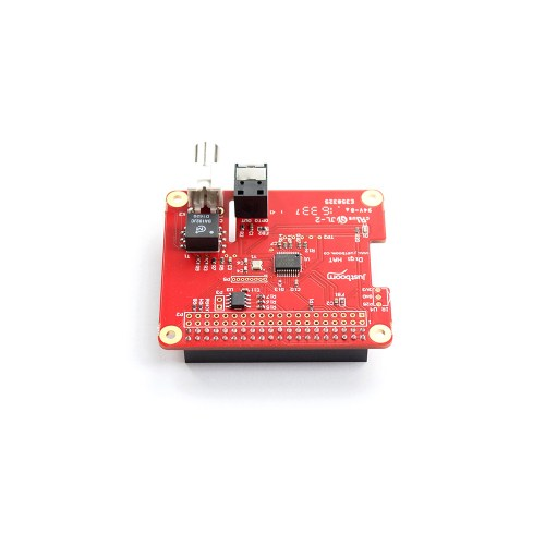 JustBoom Raspberry Pi digital audio output HAT