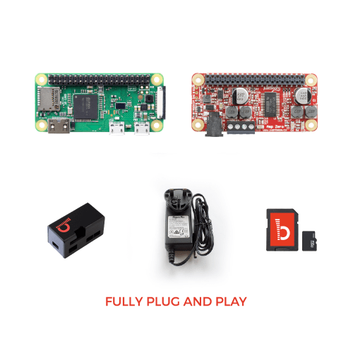 JustBoom Amp Zero Kit with Pi Zero W