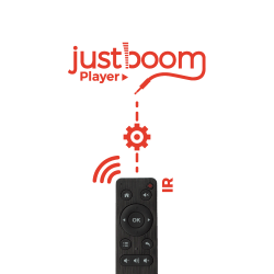 JustBoom Player IR Remote Configuration