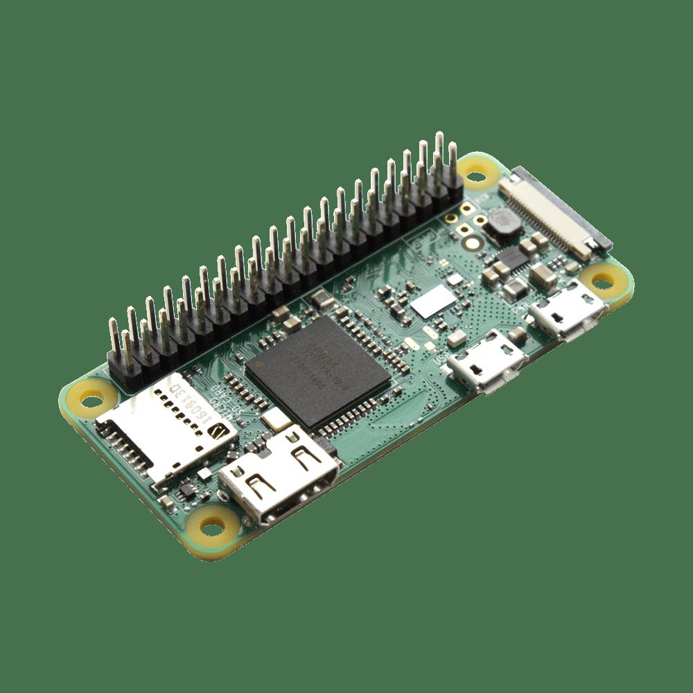 Raspberry Pi Zero W with Soldered Header • JustBoom