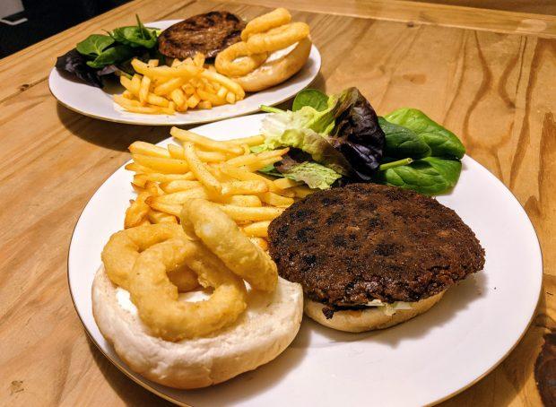 Sgaia Mheat Vegan Burgers