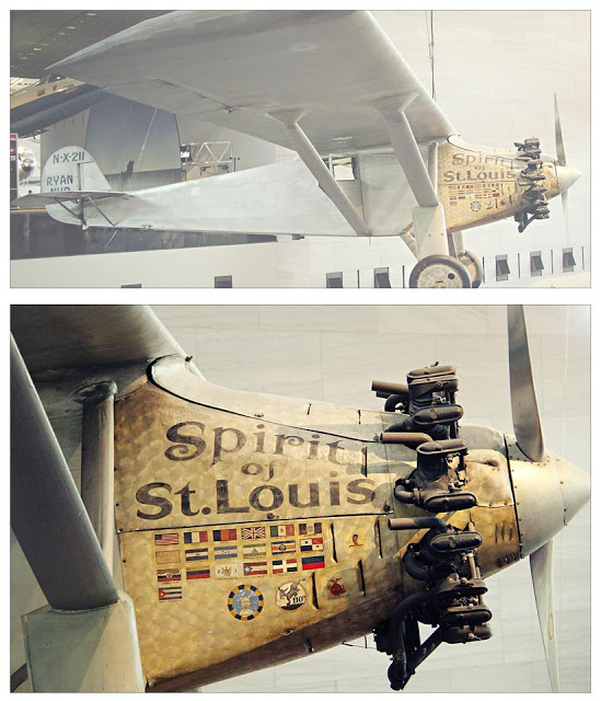 Spirit of St Louis at the National Air and Space Museum