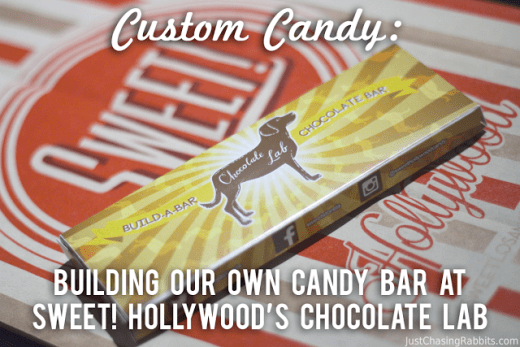 Custom Candy Bar Sweet Hollywood Chocolate Lab