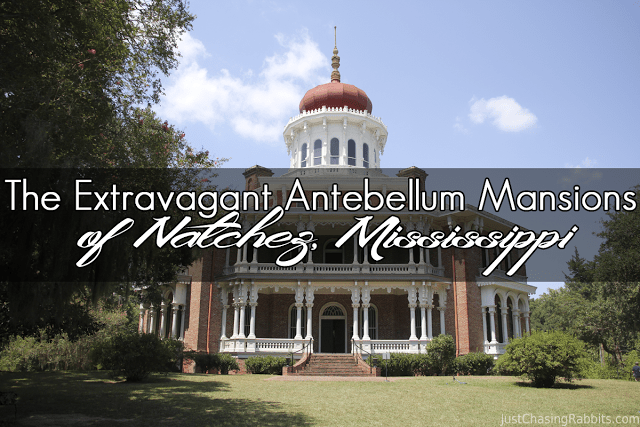 The extravagant antebellum mansions of natchez for Home builders ms