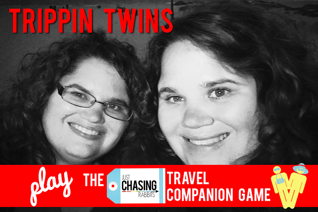 Trippin Twins Play the JCR Travel Companion Game