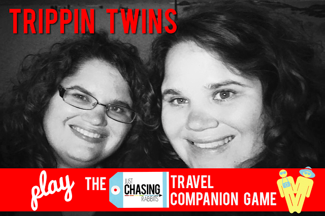"""""""Trippin Twins"""" Play the JCR Travel Companion Game!"""