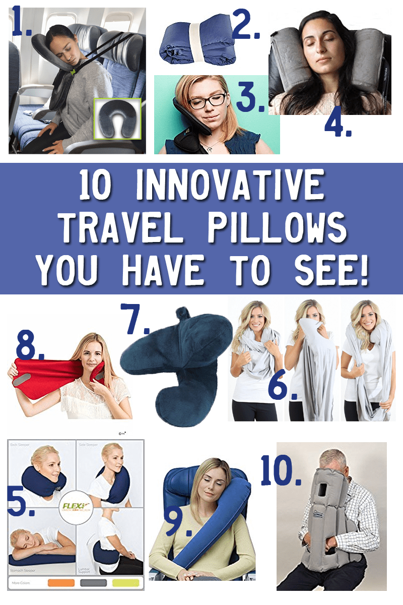 10 Innovative Travel pillows You Have To See
