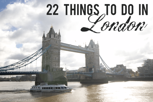 22 Things To Do In London