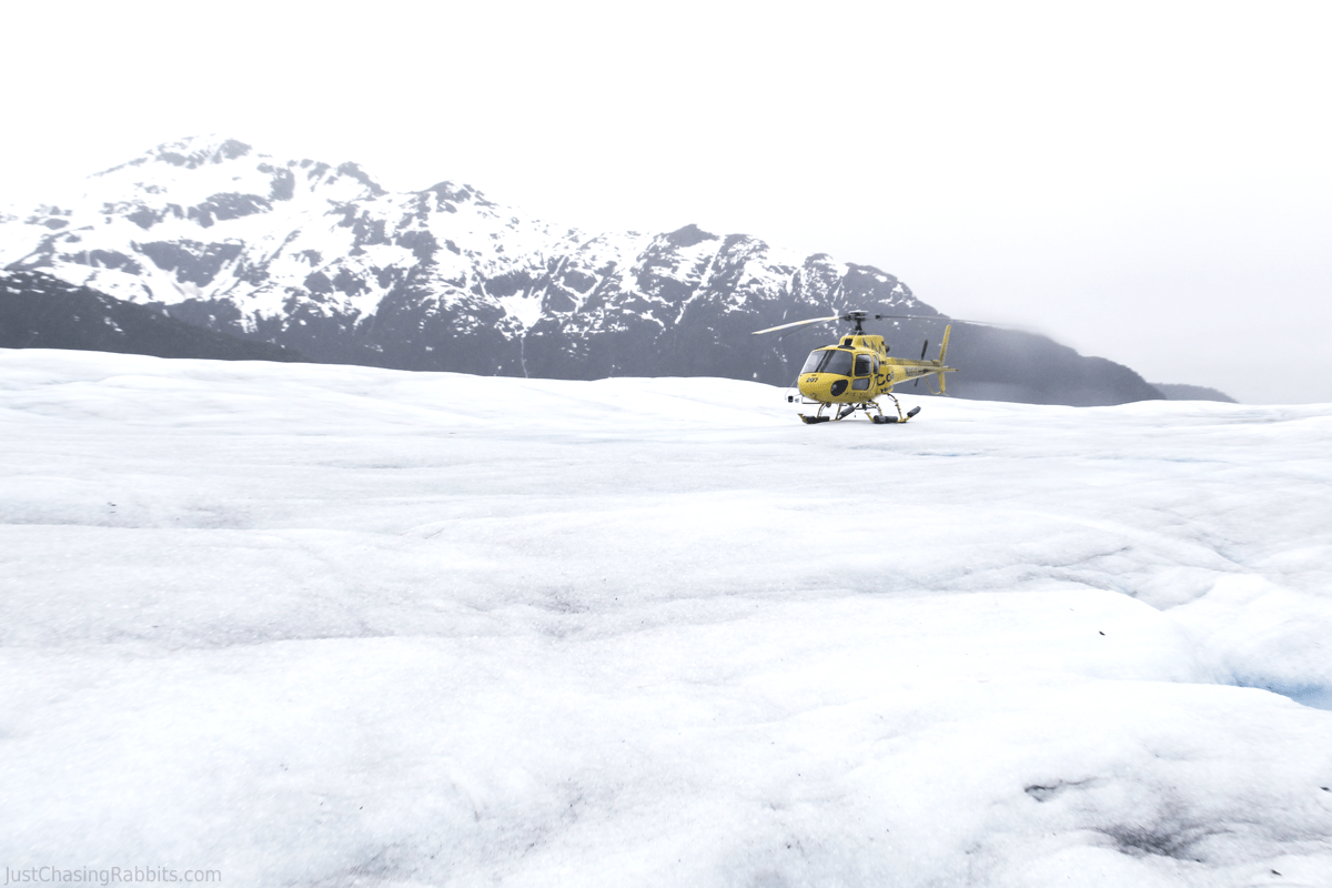 Glacier Adventure via Helicopter in Juneau, Alaska