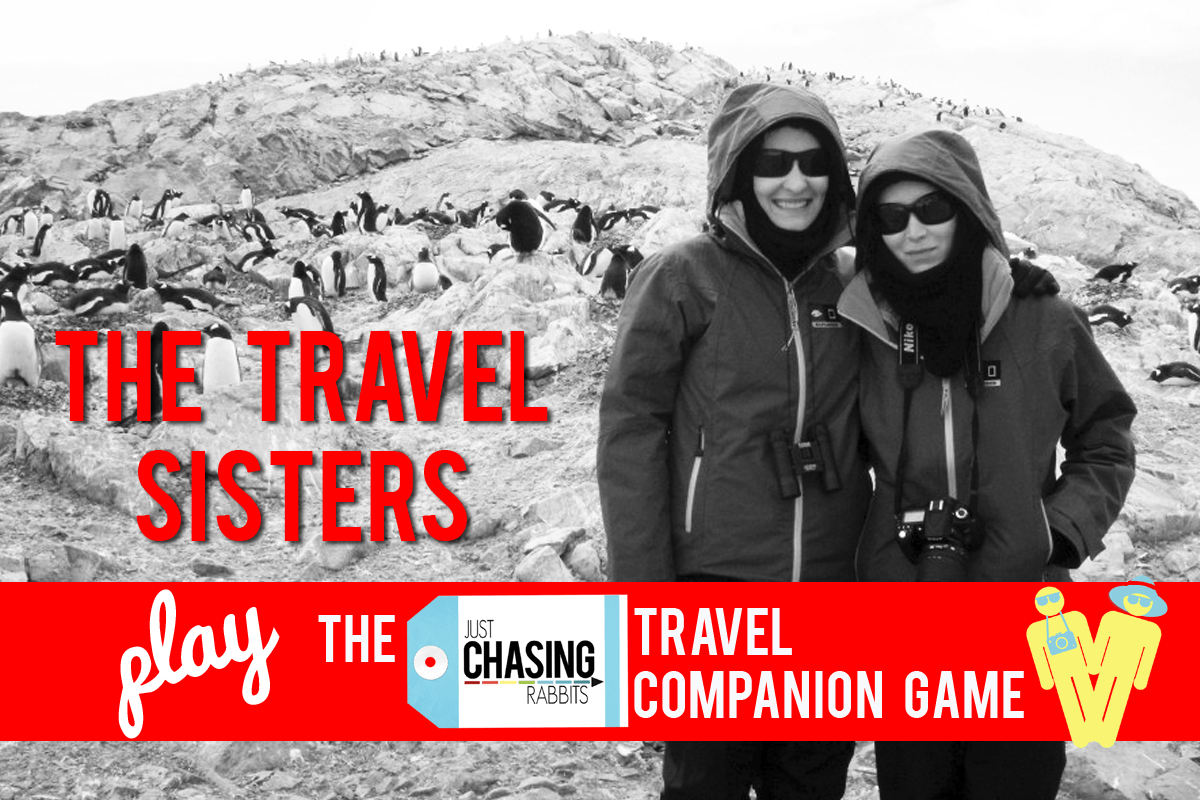 The Travel Sisters Play the JCR Travel Companion Game