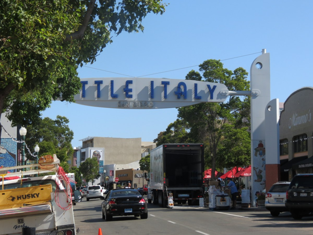 San-Diego-Little-Italy-Sign
