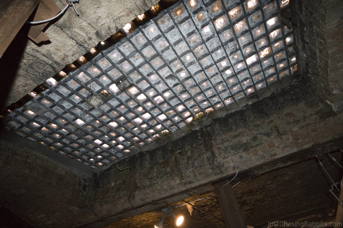 Seattle Underground Tour Skylight