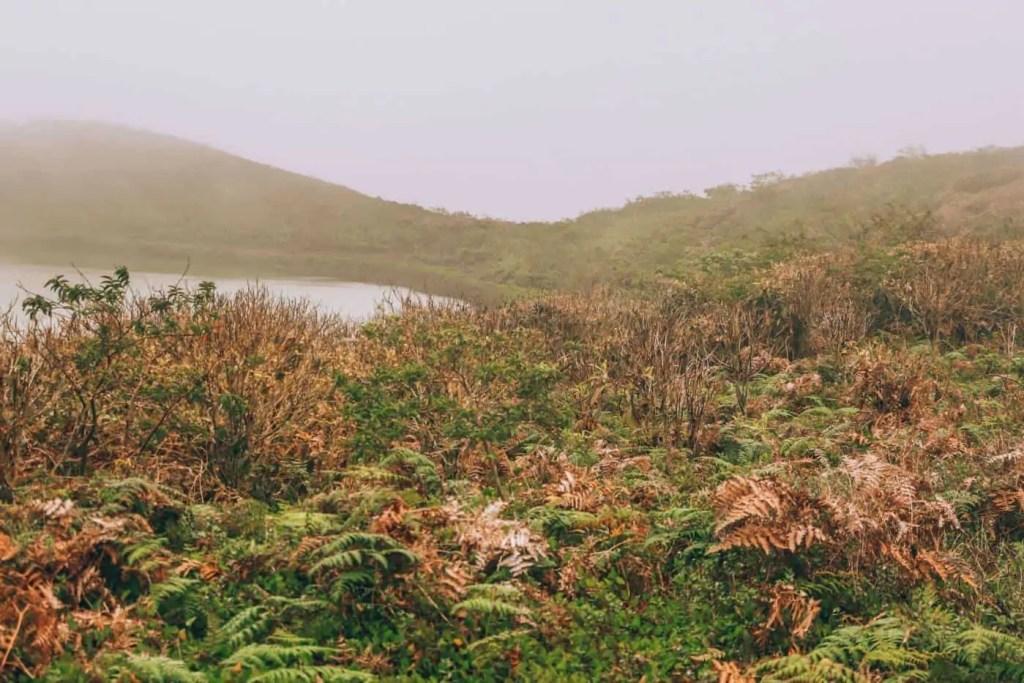 Laguna El Junco on San Cristobal Galapagos Islands