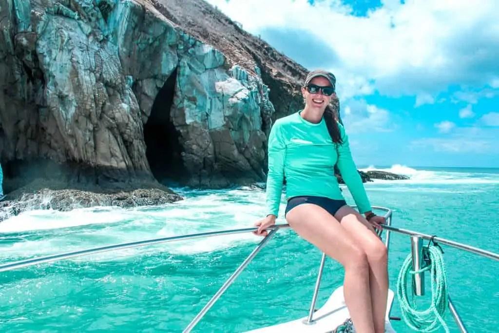 Boat in Galapagos