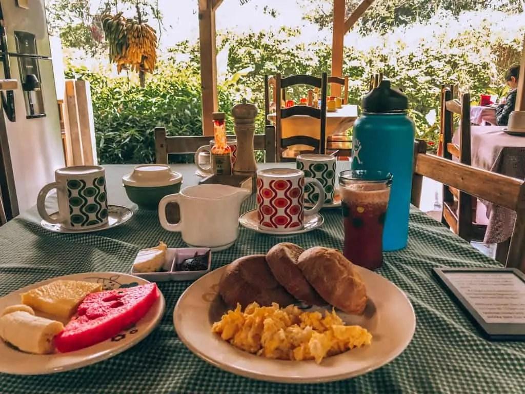 Mindo Breakfast