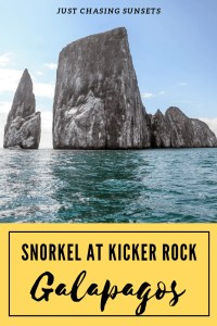 Snorkel at Kicker Rock Galapagos