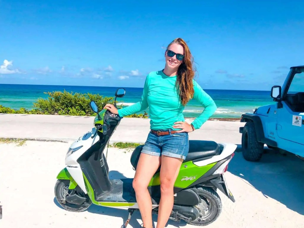 Scooter Cozumel, Mexico
