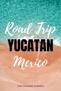 Road trip Yucatan Mexico