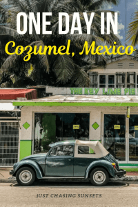 one day in cozumel mexico