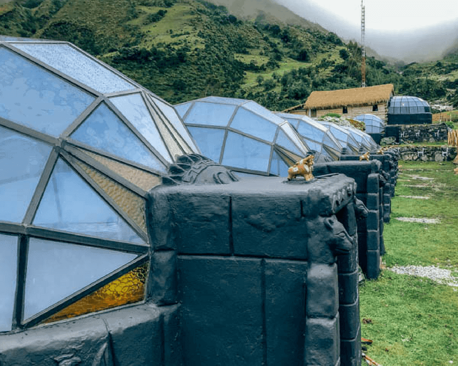 Skydomes on Salkantay Trek