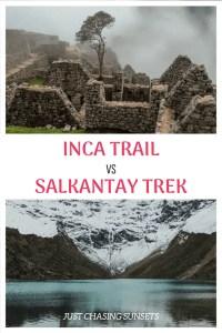 Salkantay Trek vs Inca Trail