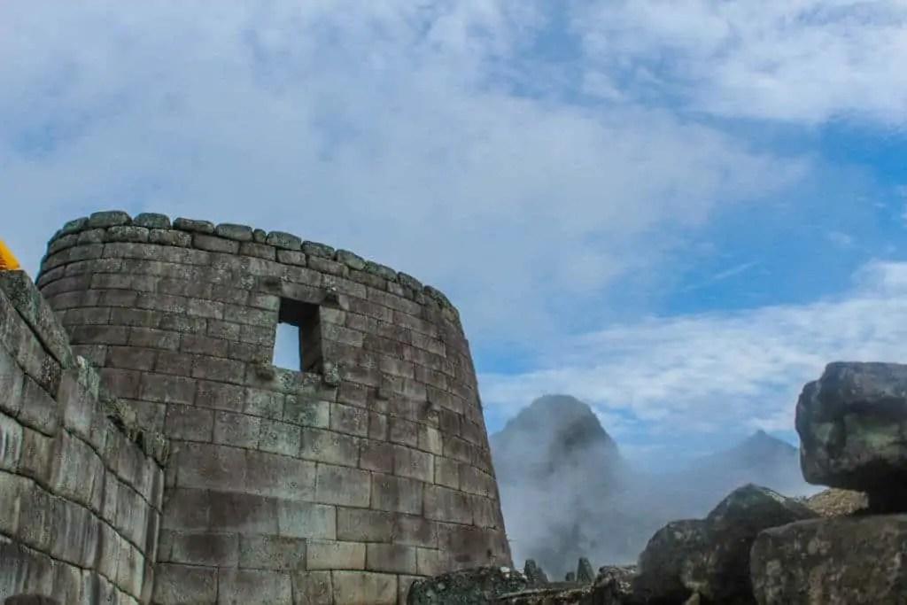Temple of the Sun Machu PIcchu