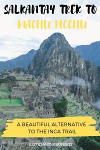 Which trek to Machu Picchu?