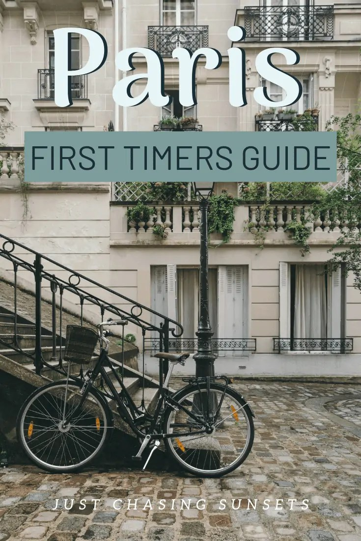 Paris: for first timers