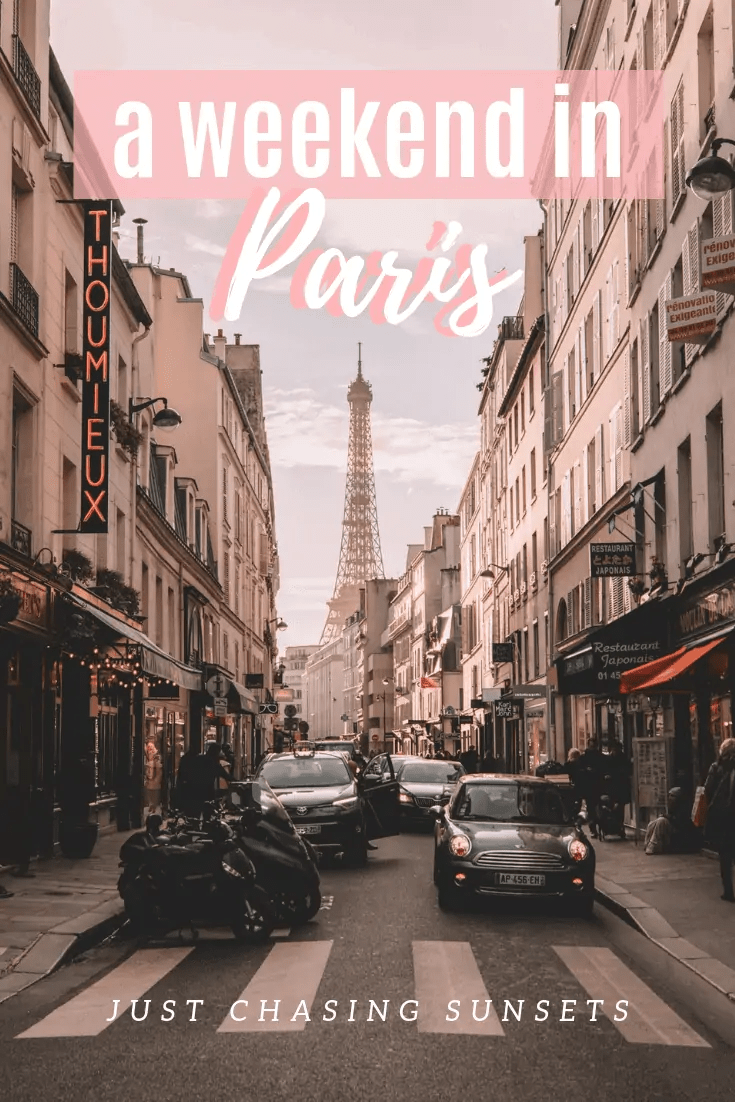 A Weekend in Paris, France