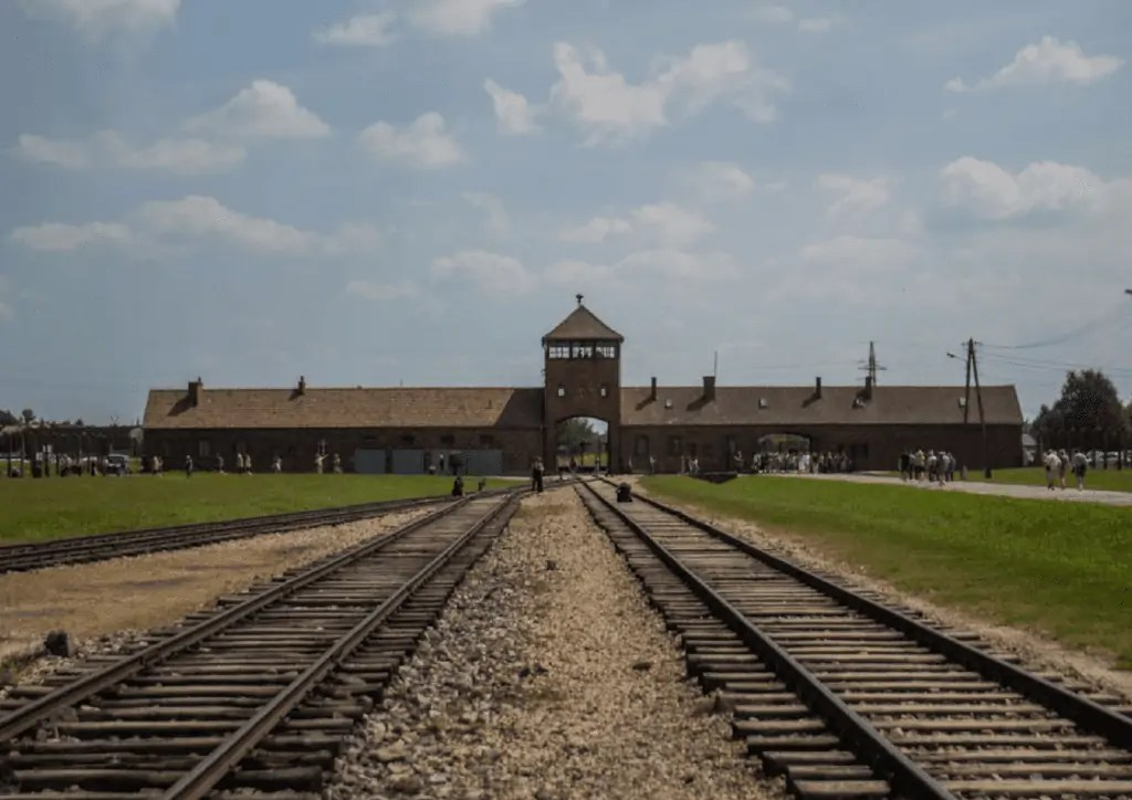 Train Tracks inside of Birkenau