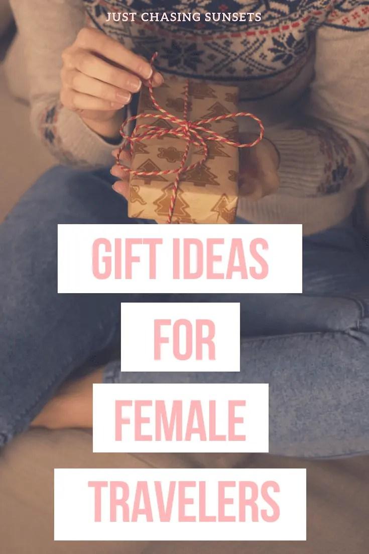 Pinterest Image gift ideas for female travelers