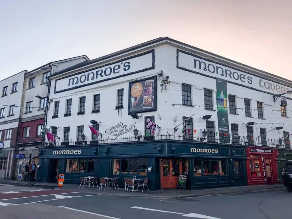 Pubs in Galway Monroe's Pub, Galway