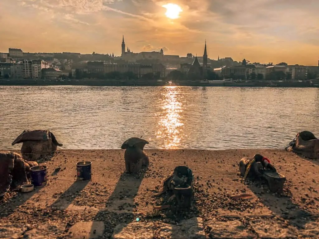 shoes on the Danube memorial in Budapest