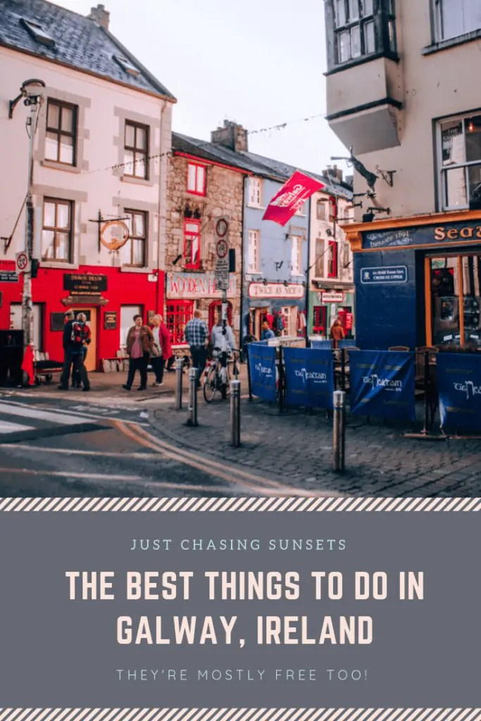 things to do in Galway Pinterest Image