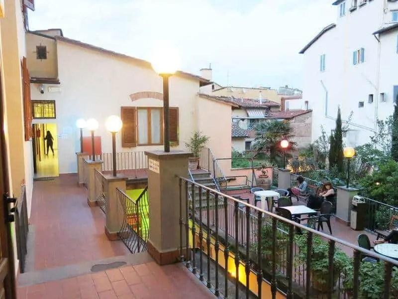 hostel archi - florence, italy