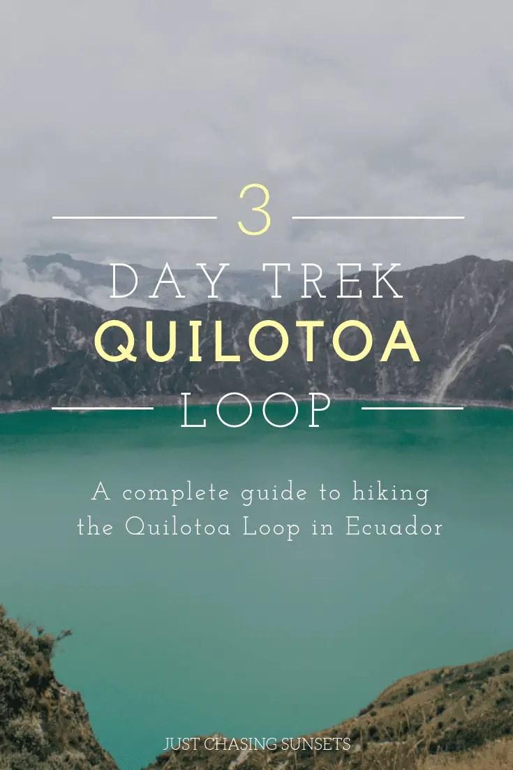 3 Day Trek - Quilotoa Loop Ecuador